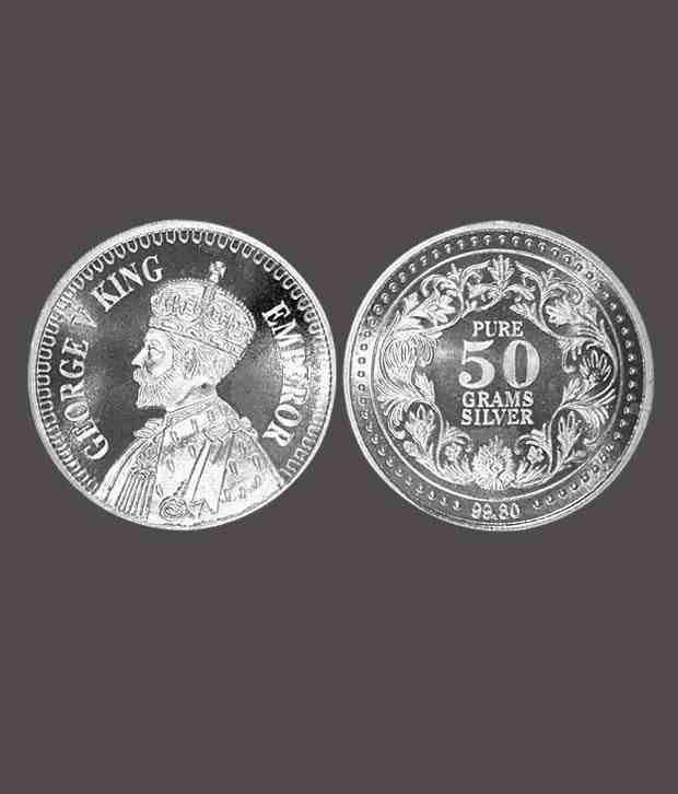 GK Auspicious King George Pure Silver Coin