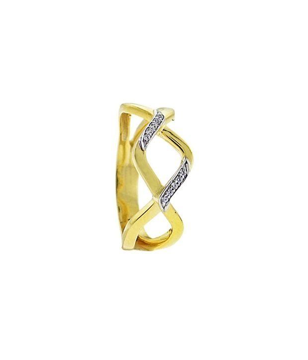 Kuhjohl Silver Swarovski Designer Ring