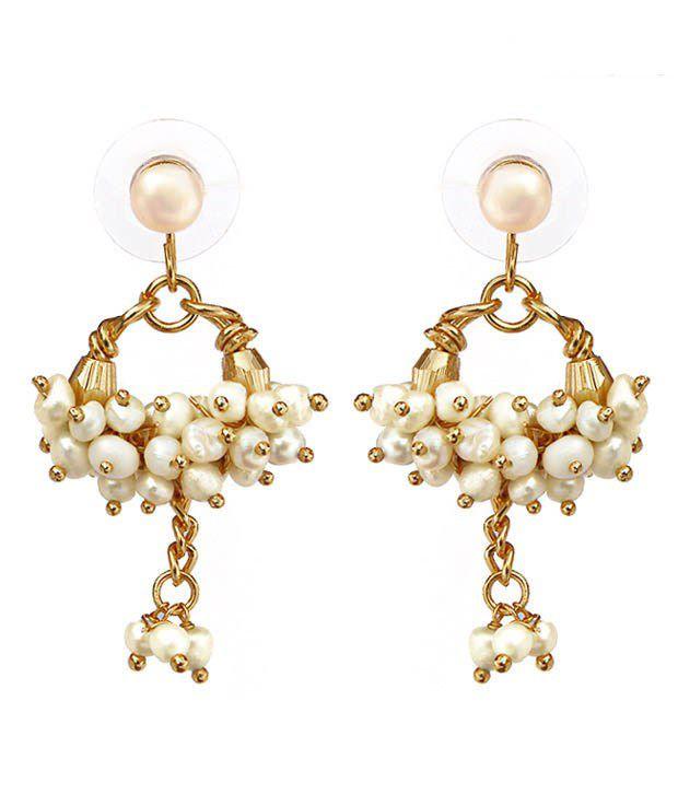 Nisa Pearls Exuberant Garland Pearls Bracelet