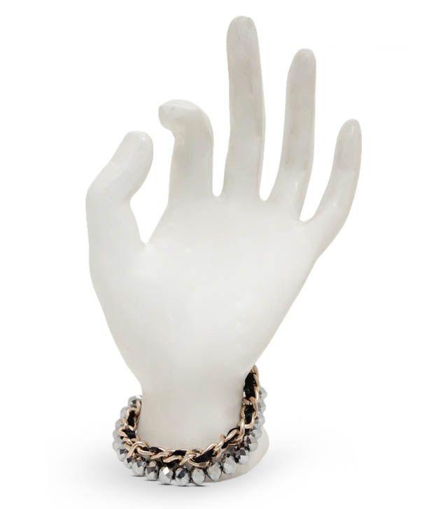 Pari Glass Beads Laden Jazzy Bracelet
