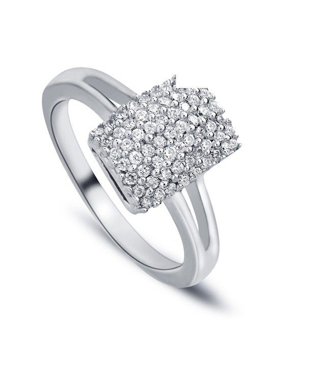 Revlis Recto Diamante Ring