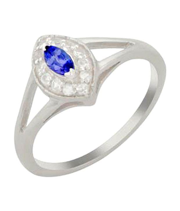 Ritz White Marquise Ring