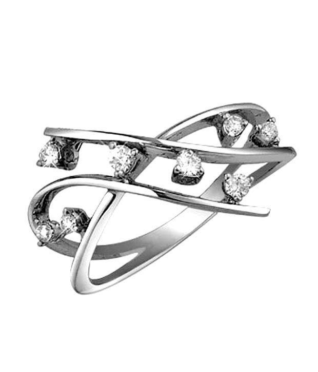 Sanskruti Divine Yellow Gold Diamond Ring