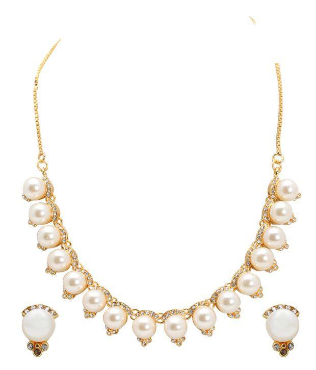 Sia Fabulous Pearl Necklace Set
