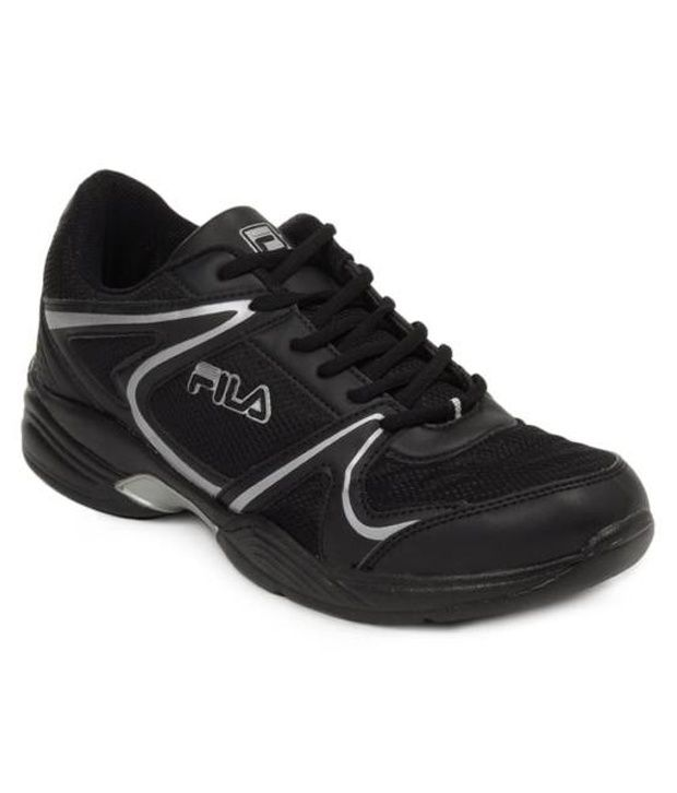 Fila Sturdy Black Sports Shoes