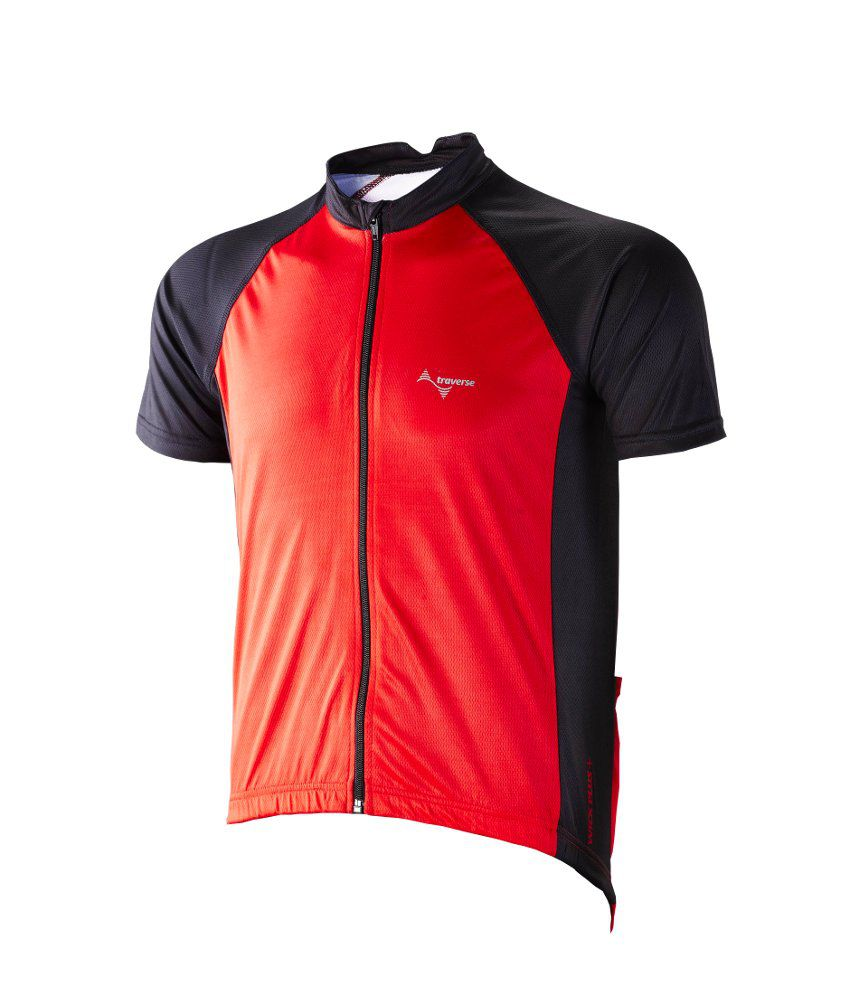 Traverse Echelon Half Sleeve Full Zipper Cycling Jersey