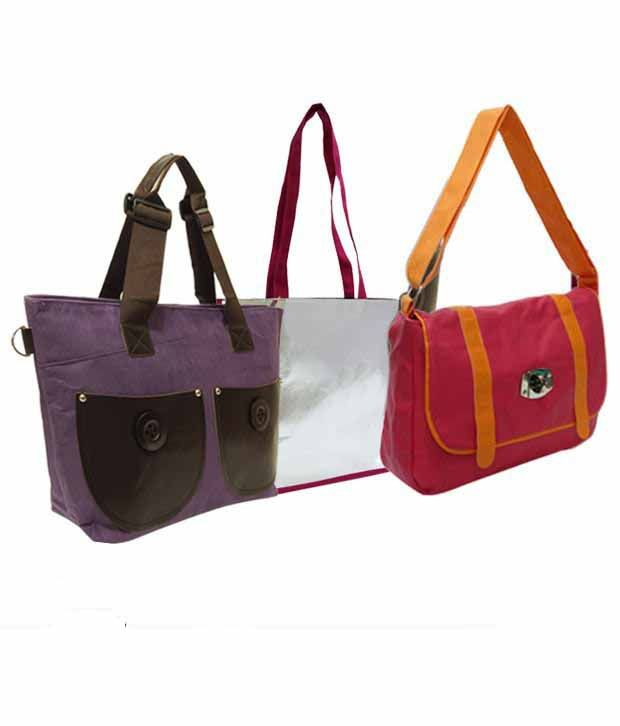 1 To All Bags Enthralling Bags Combo With Free Rose Ring Holder