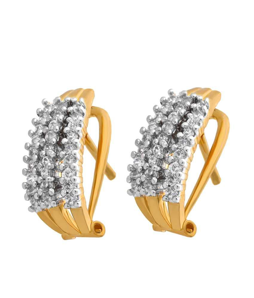 Alysa Elegant CZ Earrings