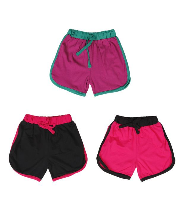 Robinbosky Elite Multicolour Pack of 3 Shorts For Kids