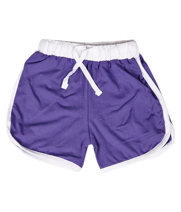 Robinbosky Fashionable Light Purple Shorts For Kids