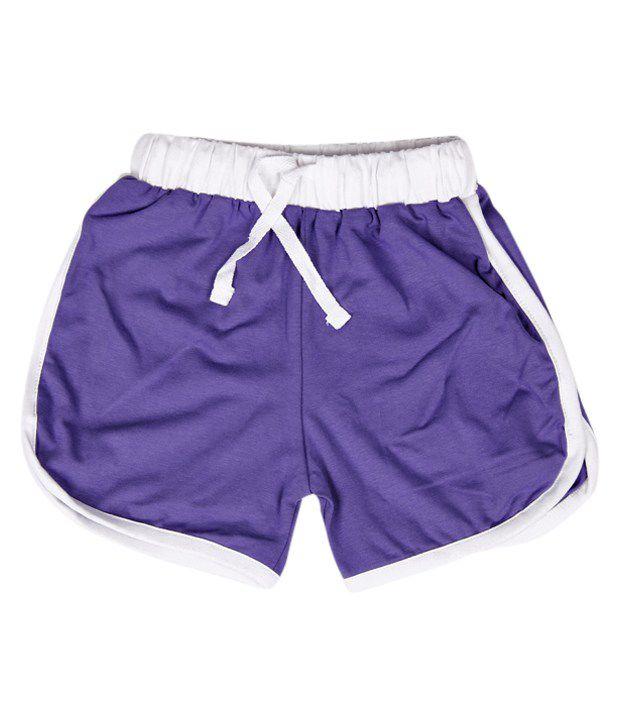Robinbosky Fashionable Light Purple Shorts For Kids