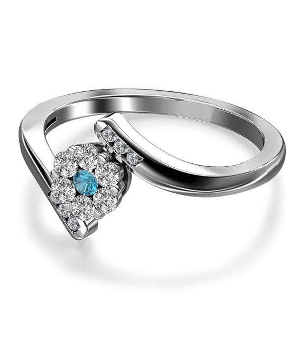 The Maysa Seven Stone 18Kt Real Gold & Diamond Ring