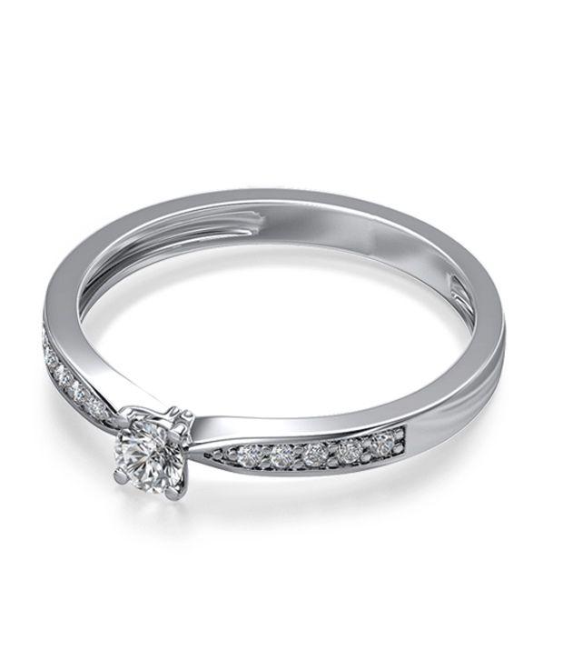 The Nyx Shoulder Set 18Kt Real Gold & Diamond Ring
