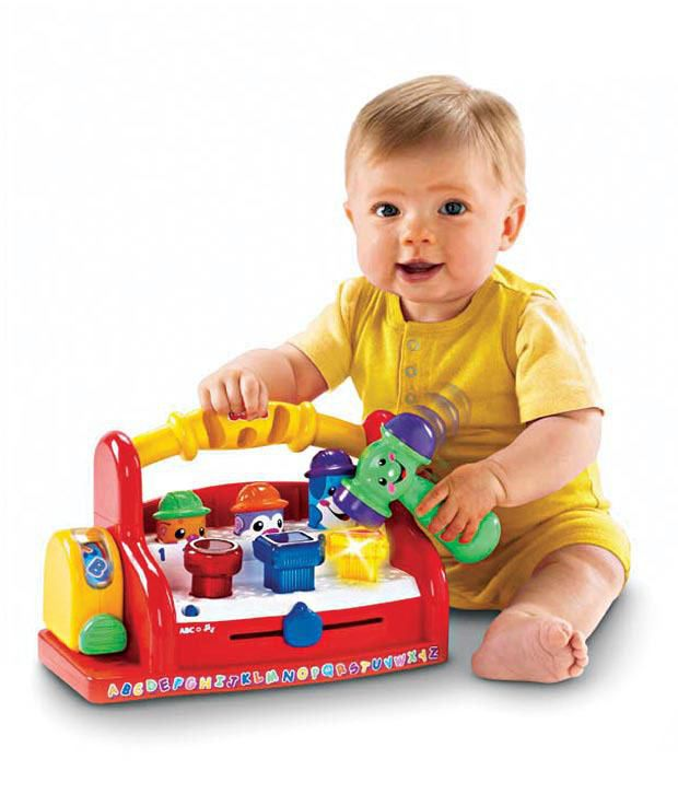 Fisher Price Laugh & Learn Learning Tool Bench