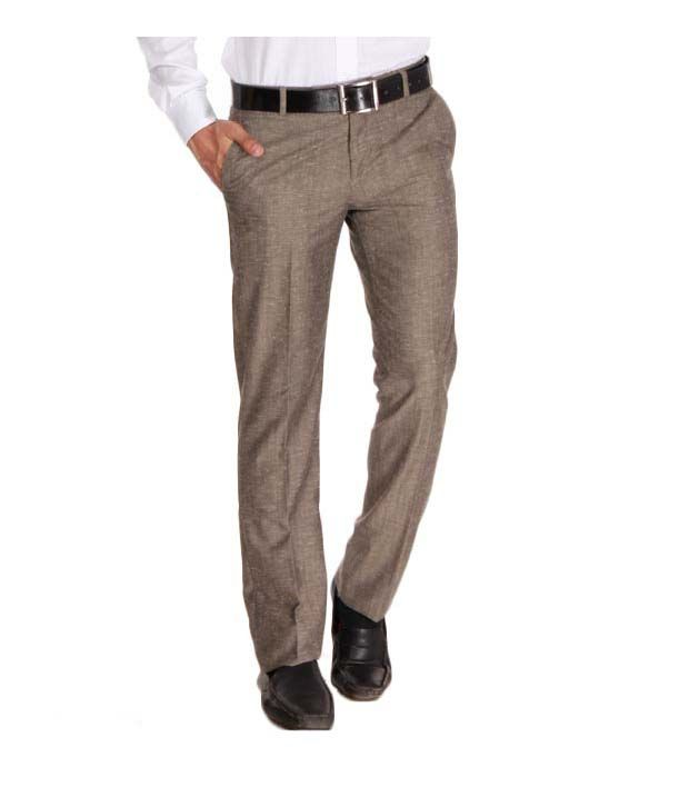 John Players Brown Trousers