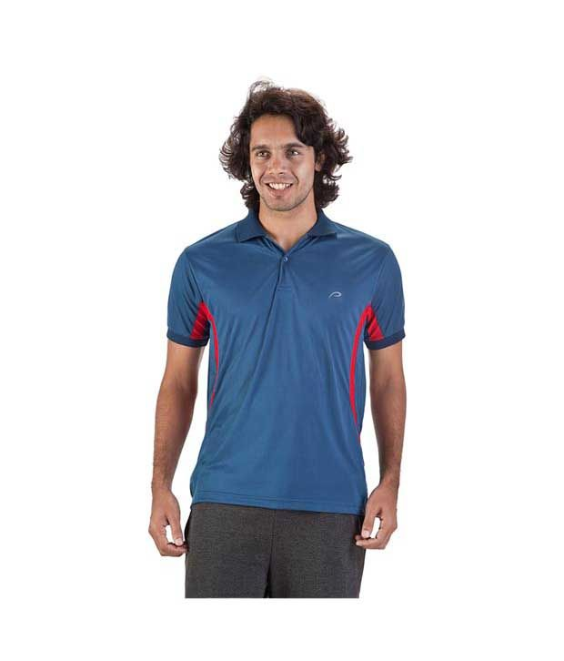 Proline Blue Polo T Shirt