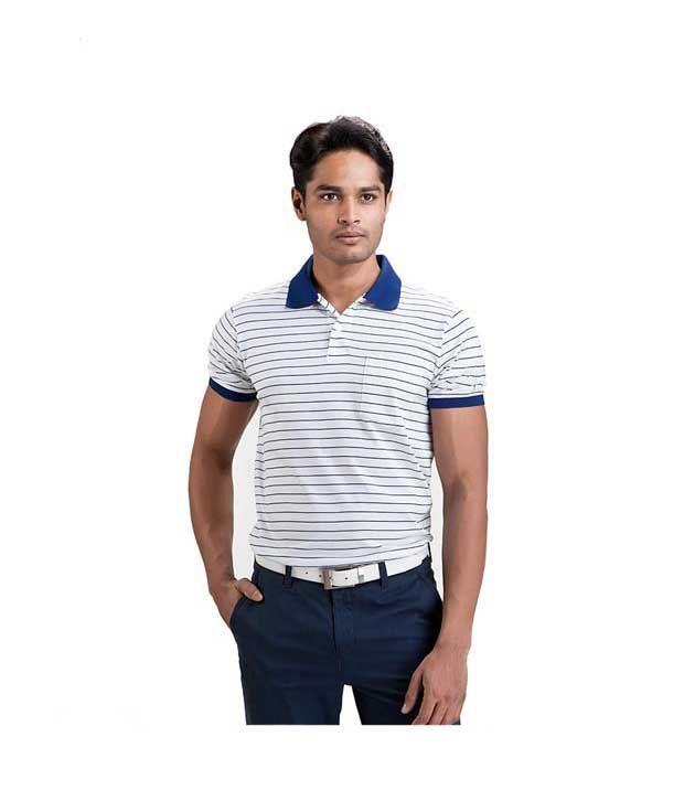 Proline White Polo T Shirt
