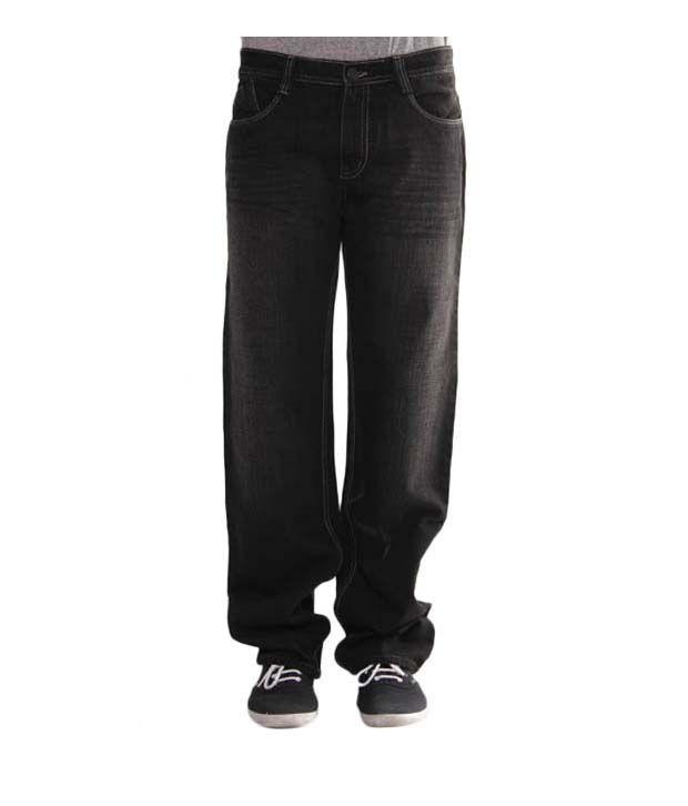 Richlook Classic Black Jeans