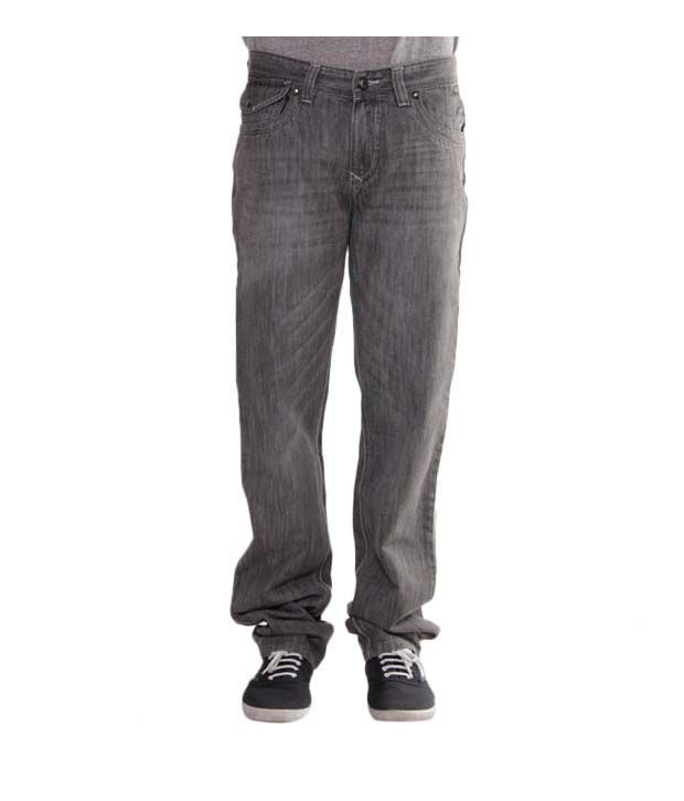 Richlook Faded Black Jeans