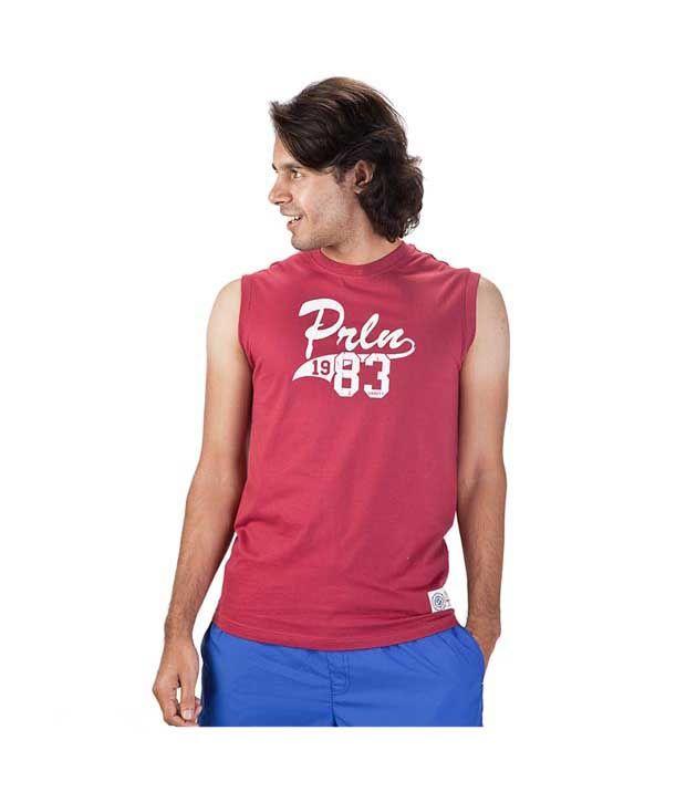 Proline Dark Red T shirt