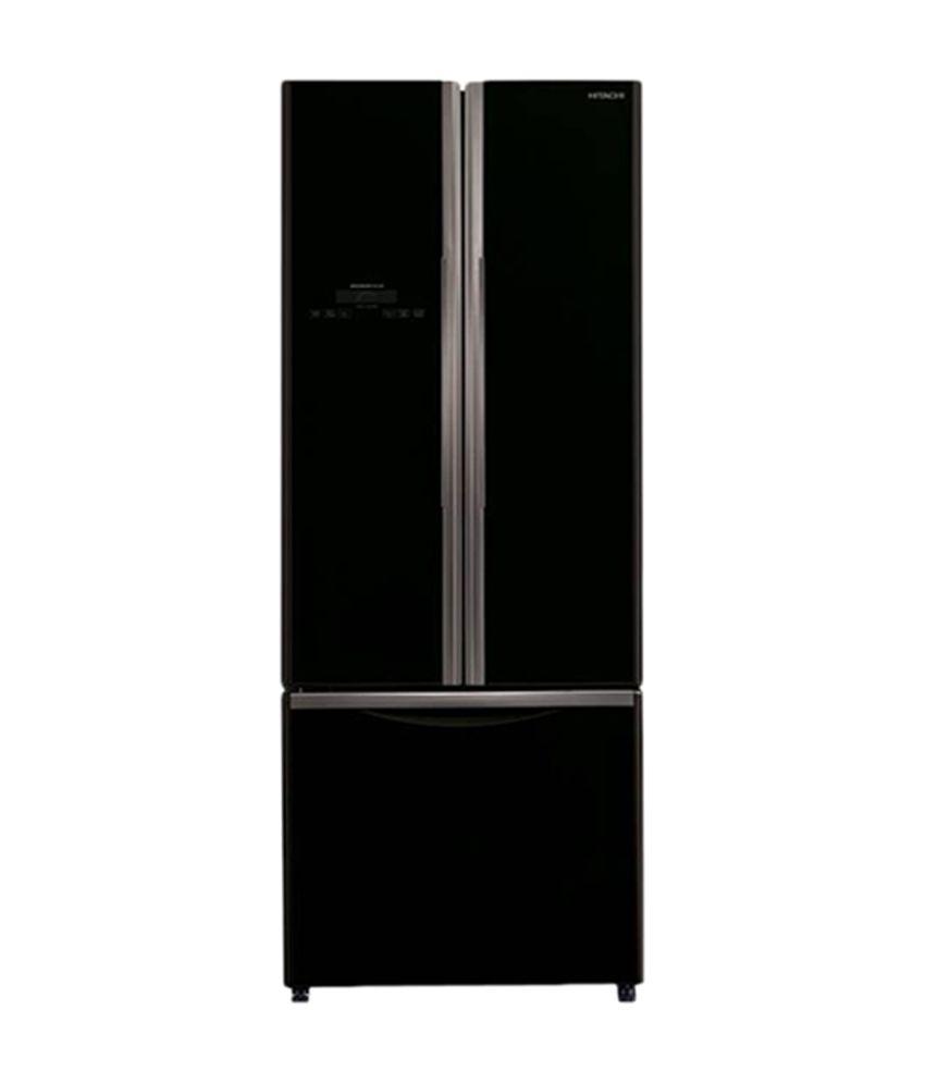 Hitachi 456 Litre Three Door R-WB480PND2-GBK -Inverter Refrigerator Glass Black