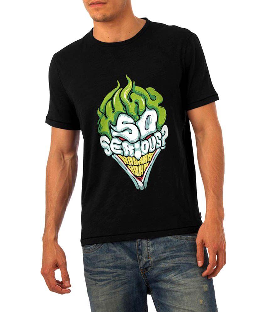 fb612250e9e9e Humptee Dumptee Batman - Why So Serious Joker T Shirt - Buy Humptee Dumptee  Batman - Why So Serious Joker T Shirt Online at Low Price - Snapdeal.com