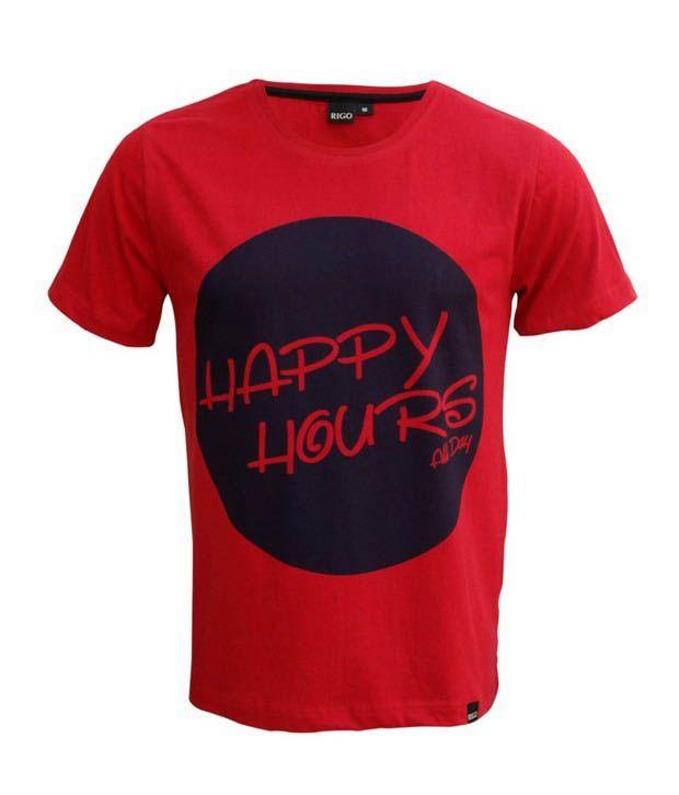 Rigo Red Happy Hours T-Shirt