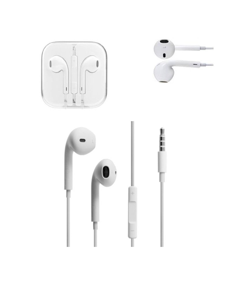 7def67a2224 El Dorado White Stereo Headset Earpods With Mic For Apple iPhone 4 ,4S , 5,  5C, 5S - Buy El Dorado White Stereo Headset Earpods With Mic For Apple  iPhone 4 ...