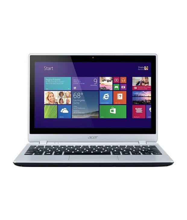 Acer V5-122P (NX.M8WSI.008) Touchscreen Netbook (APU Dual Core A4- 2GB RAM- 500GB HDD- 29.46cm (11.6) Touchscreen- Win 8) (Silver)