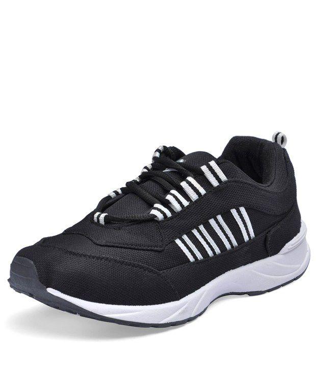 Lancer Black Sport Shoes