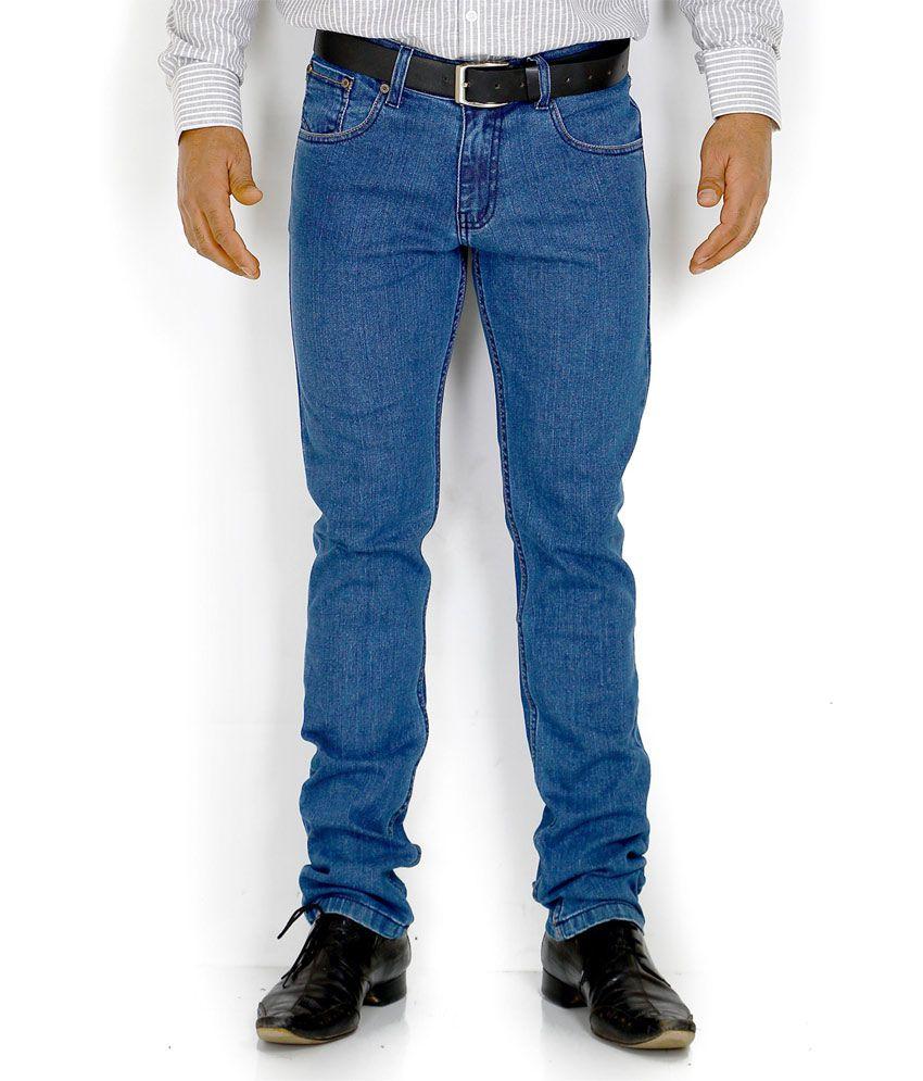 Solemio Blue Slim Jeans