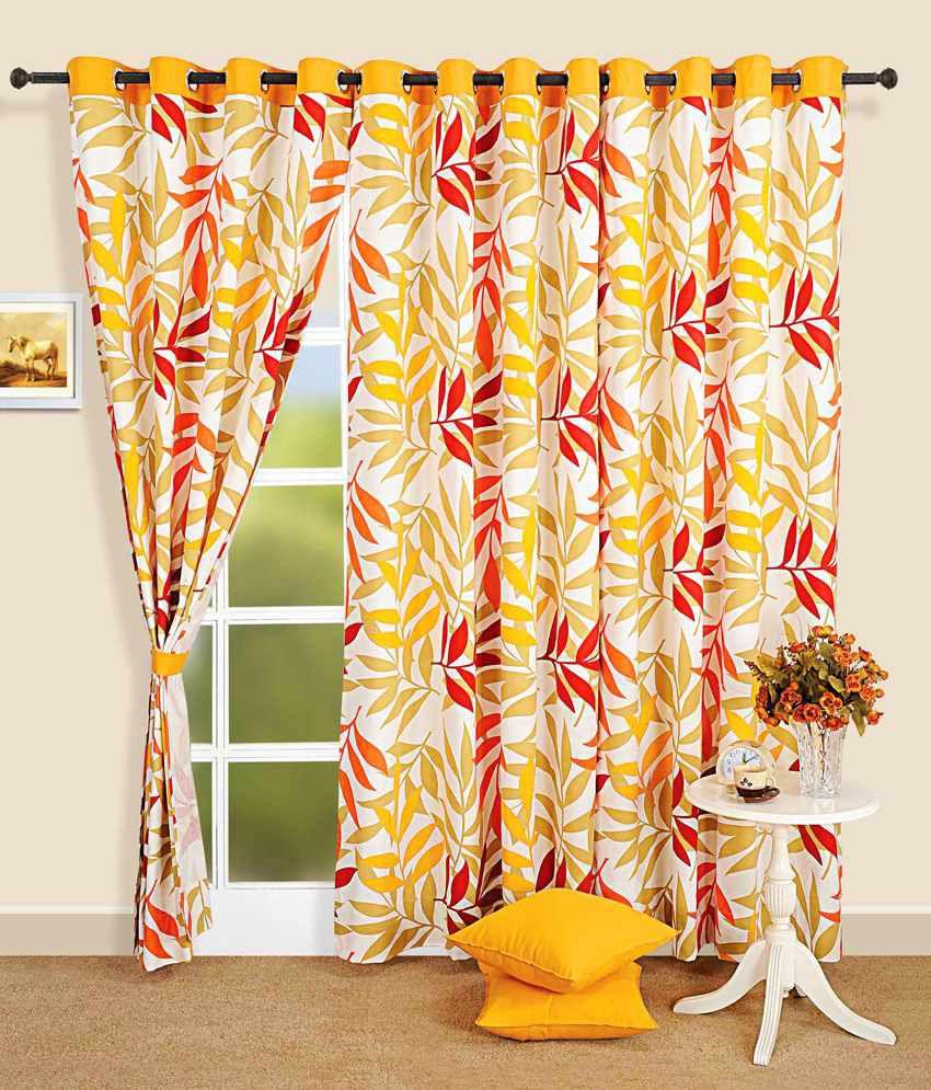 Swayam Single Long Door Eyelet Curtain