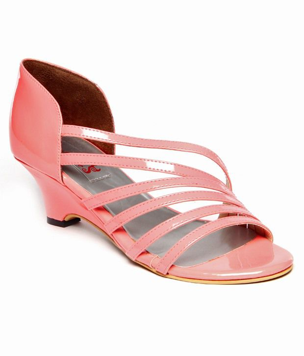 We Witches Pink Wedges