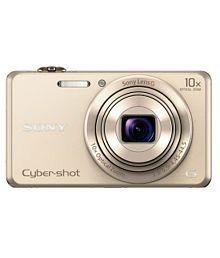 Sony Cybershot WX220 Digital Camera (Gold)