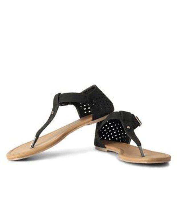 Allen Solly Black Sandal