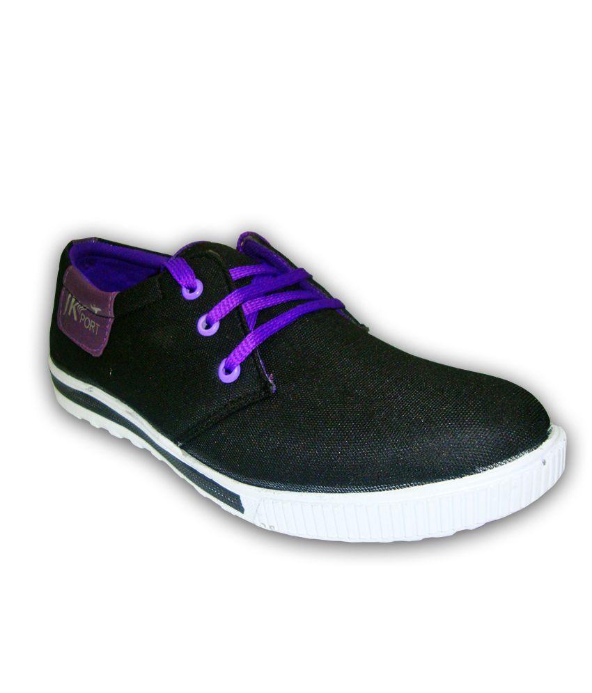 JK Port Purple Sneaker Shoes