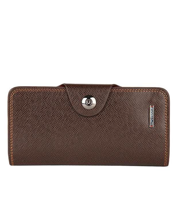 Lino Perros Brown Wallet For Women