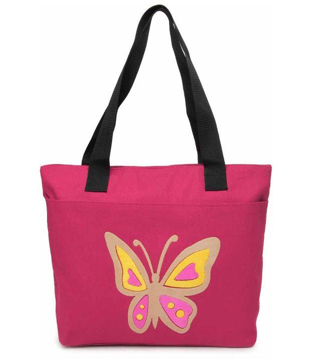 Kiara 10576-Pink Tote Bag