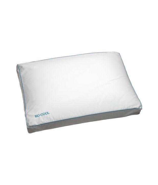 sleep better iso-cool memory foam pillow gusseted side sleeper