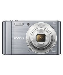 Sony Cybershot W810 20.1MP Digital Camera (Silver)