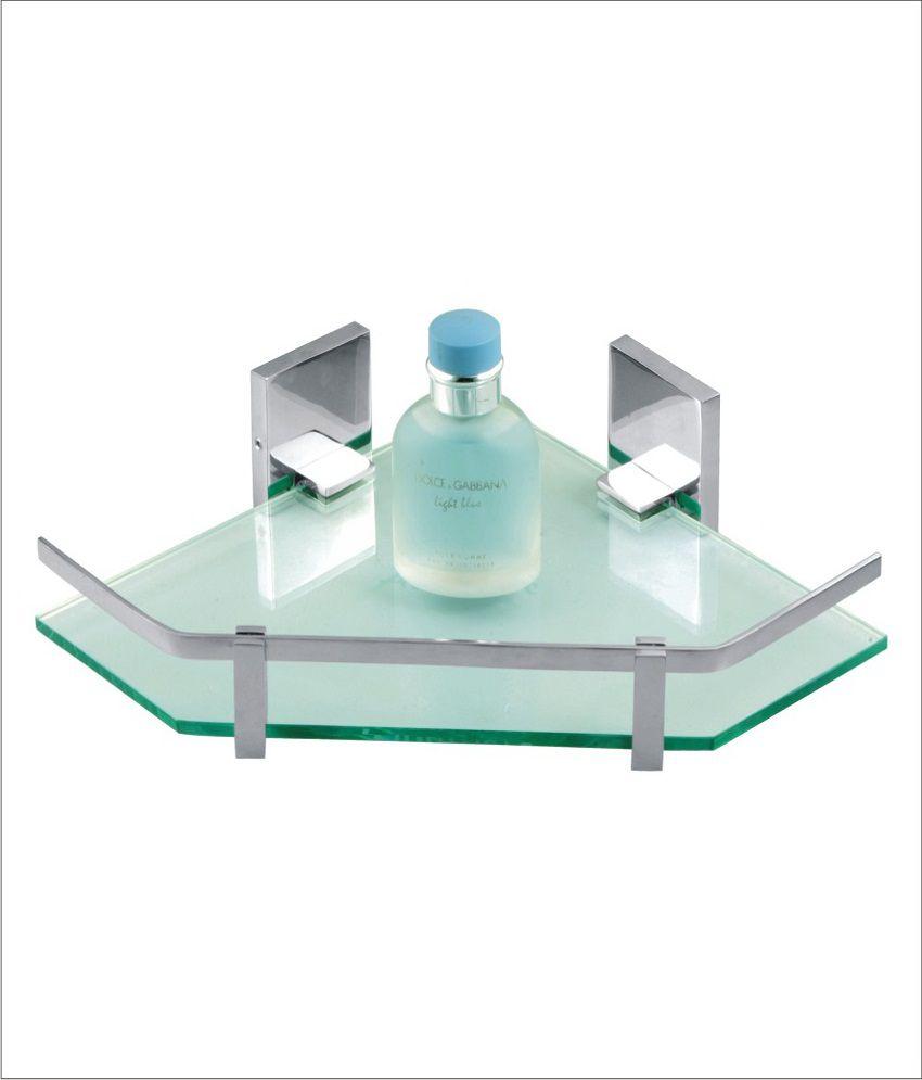 Buy Add more - Kubix Corner Glass Shelf 9\