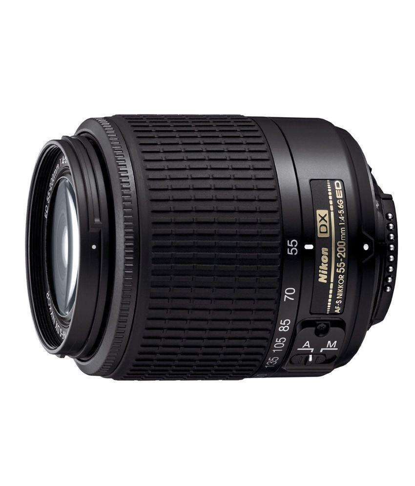 Nikon 55-200 mm VR f/4-5.6G IF ED  AF-S DX Zoom Lens (DX Format)