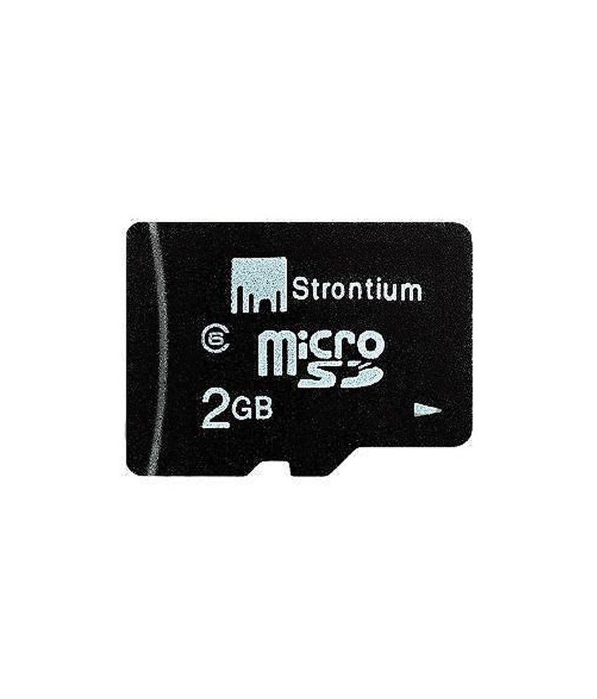 Strontium 2GB Micro SD Card Class6