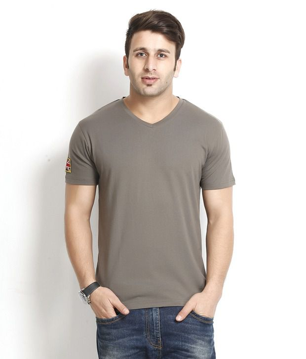 Gritstones Exclusive Taupe T Shirt