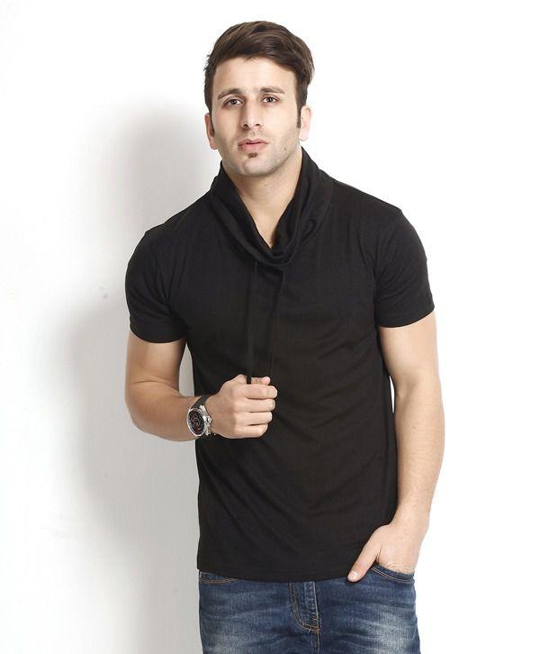 Gritstones Exquisite Black T Shirt
