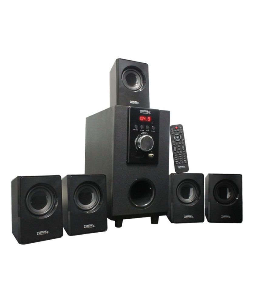 Zebronics ZEB-SW6100RUCF 5.1 Multimedia Speakers