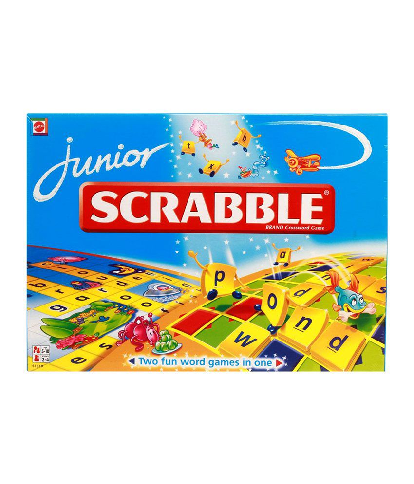 Spielanleitung Scrabble Junior