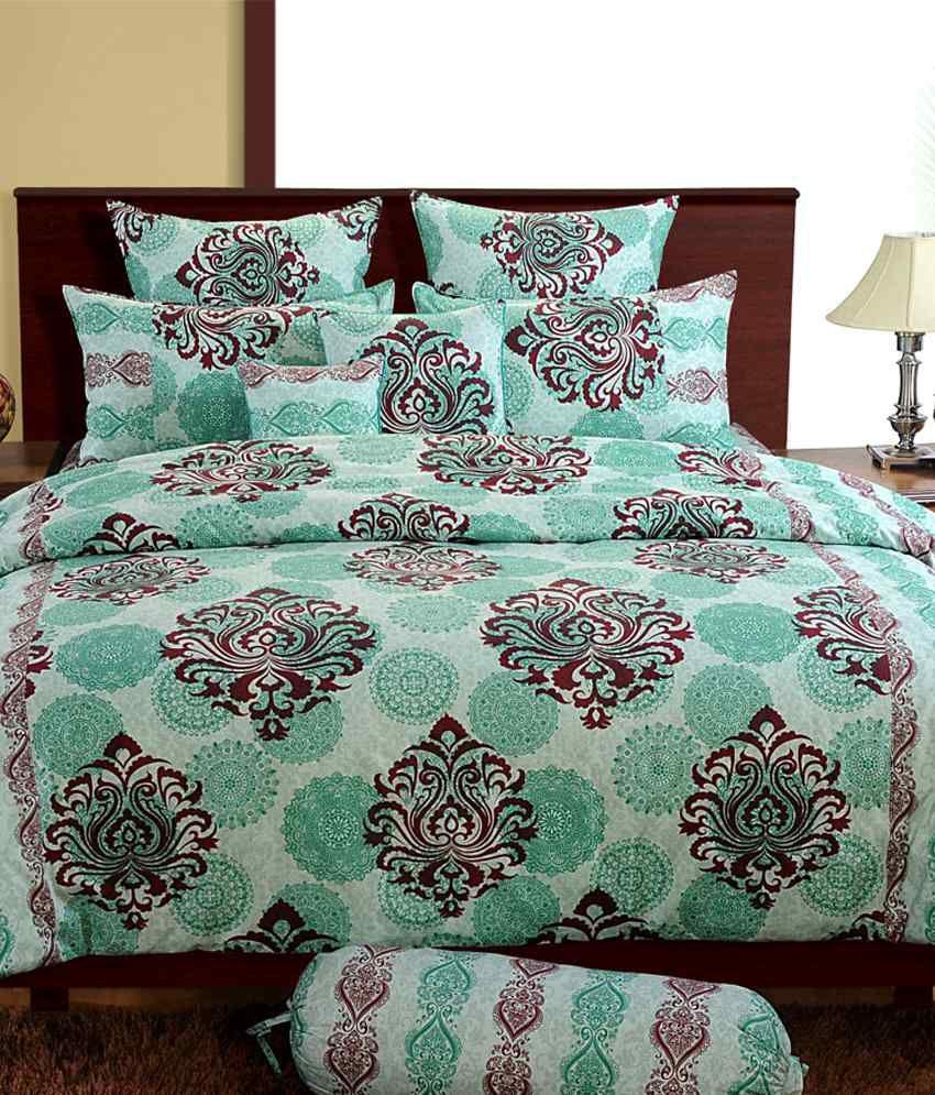 Swayam Signature Stylish Single Bed Sheet With Pillow