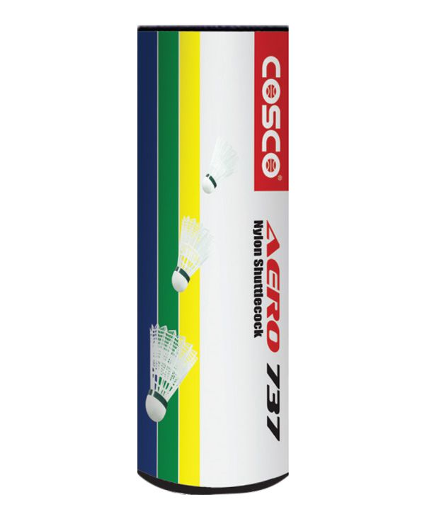 Cosco Aero 737 Badminton Shuttle Cock (Pack Of 1 Dozen Shuttles)
