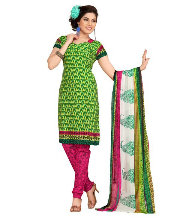 3776d736a0 Fabdeal Leon Crepe Dress Material Combo Pack Of 5 - Buy Fabdeal Leon ...